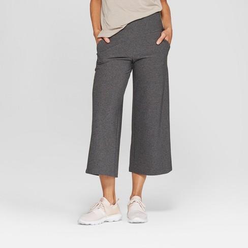 MPG Sport Women's High-Waisted Wide Leg Knit Crop - image 1 of 2