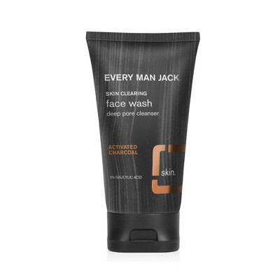 Every Man Jack Charcoal Face Wash