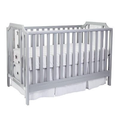 Suite Bebe Celeste Island Crib - Light Gray