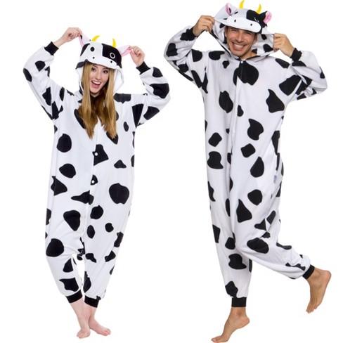 Funziez! Cow Adult Unisex Novelty Union Suit - image 1 of 4