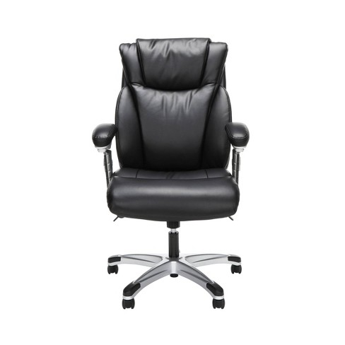 Ergonomic Executive Bonded Leather Office Chair - OFM - image 1 of 4