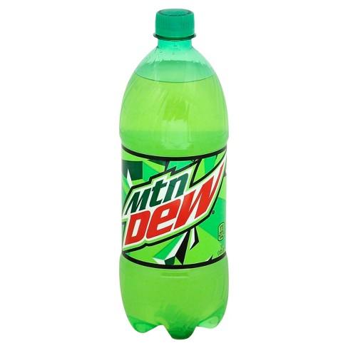 Mountain Dew Citrus Soda - 1 liter Bottle - image 1 of 4