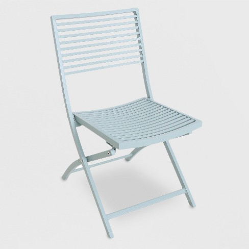 Fabulous Metal Slat Patio Bistro Chair Light Green Project 62 Bralicious Painted Fabric Chair Ideas Braliciousco