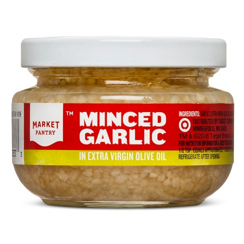 Minced Garlic in Extra Virgin Olive Oil - 4.5oz - Market Pantry™ - image 1 of 1