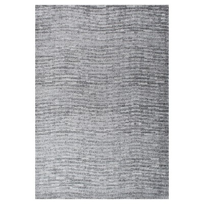 Sterling Gray Solid Loomed Area Rug - (7'6 x9'6 )- nuLOOM