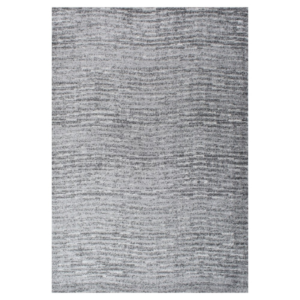 Sterling Gray Solid Loomed Area Rug - (8'6