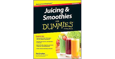 Juicing and Smoothies for Dummies (Paperback) (Pat Crocker) - image 1 of 1
