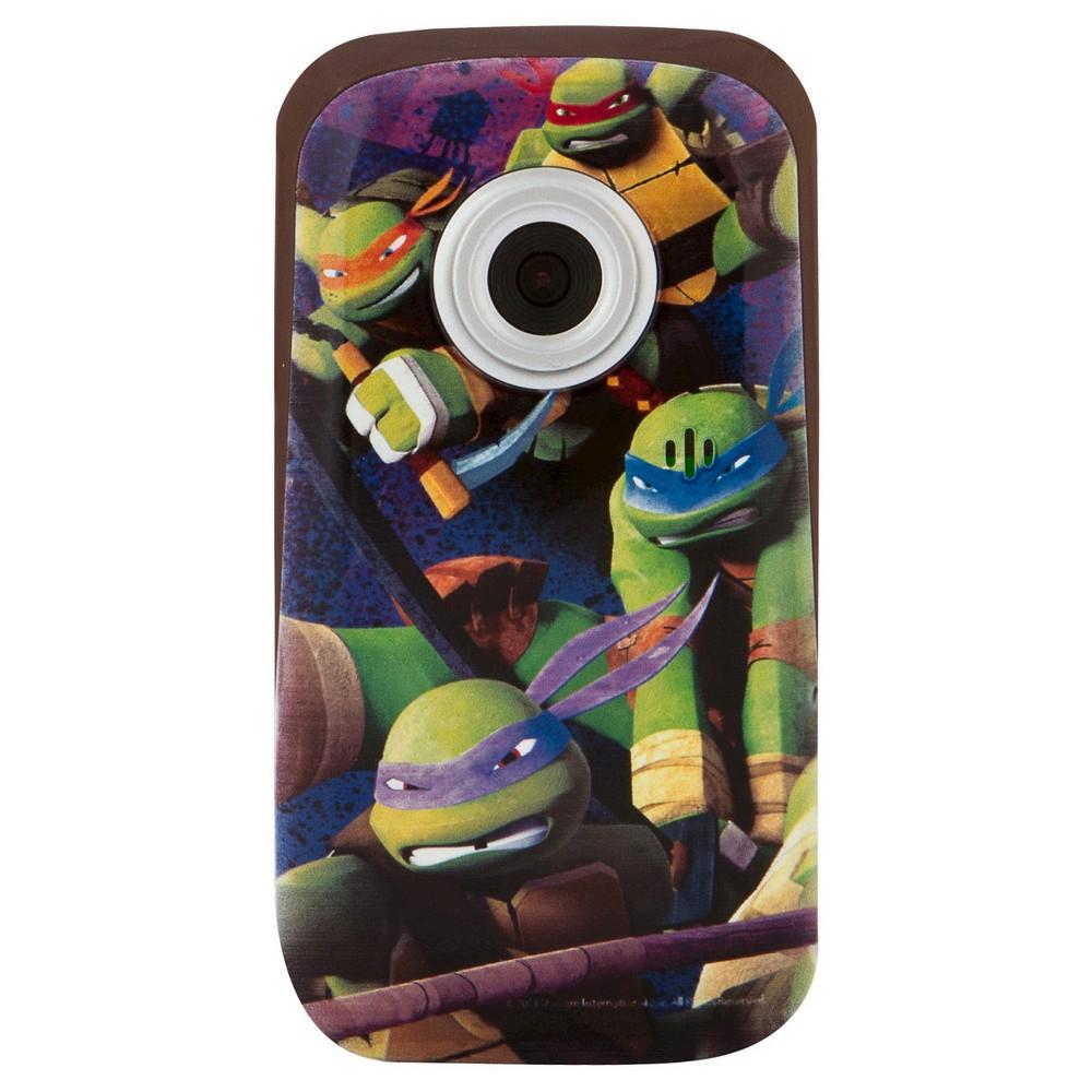 Teenage Mutant Ninja Turtles Digital Camcorder - Green/Purple (38065), Multi-Colored