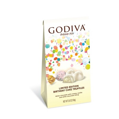 Outstanding Godiva Limited Edition Birthday Cake Truffles 4 2Oz Target Funny Birthday Cards Online Alyptdamsfinfo