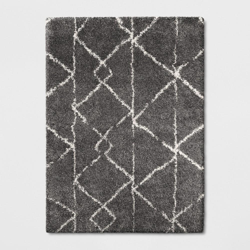 5 39 X7 39 Geometric Design Woven Area Rugs Gray Project 62 8482