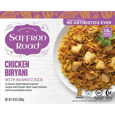 Saffron Road Frozen Chicken Biryani - 10oz
