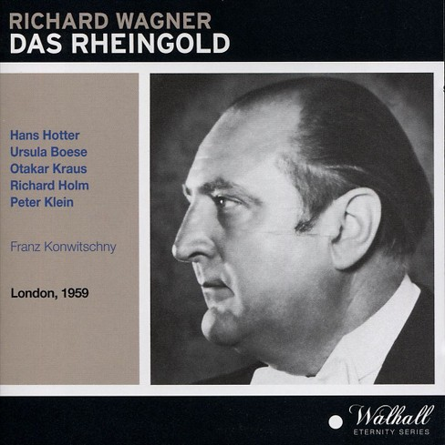 Hans hotter - Wagner:Das rheingold (CD) - image 1 of 1