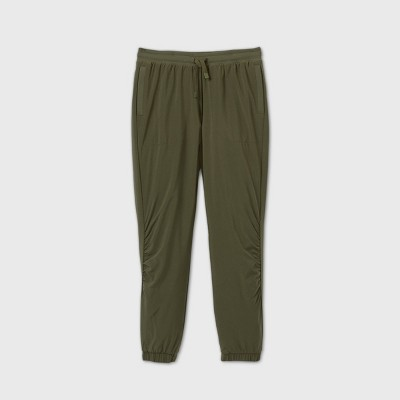 Girls' Lined Winter Woven Jogger Pants - All in Motion™