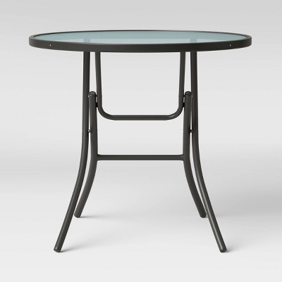 """32"""" Patio Bistro Table - Clear - Room Essentials™"""