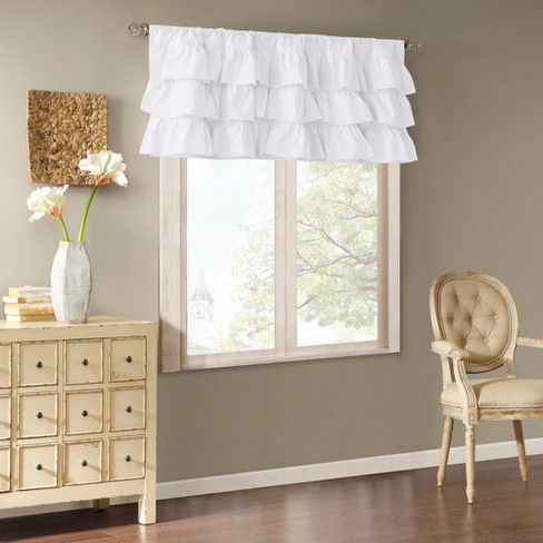 Ariana Cotton Oversized Ruffle Valance