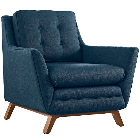 Beguile Upholstered Fabric Armchair - Modway - image 1 of 5