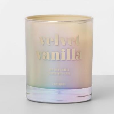 7oz Iridescent Jar Candle Velvet Vanilla - Opalhouse™