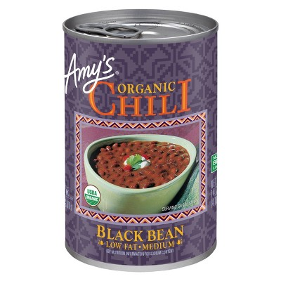 Amy's Organic Low-Fat Medium Black Bean Chili 14.7oz