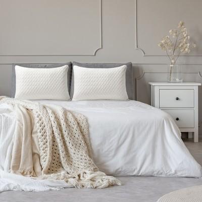 2 Pcs Memory Foam for Bedroom Sleeping Bed Pillows - PiccoCasa