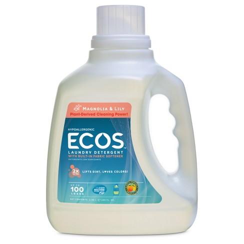 ECOS Magnolia & Lily Liquid Laundry Detergent - 100 fl oz - image 1 of 2