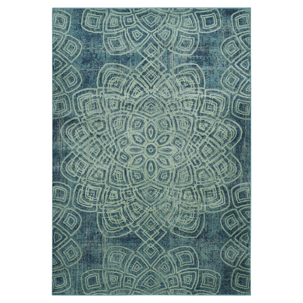 Constellation Vintage Rug - Light Blue/Multi - (5'3