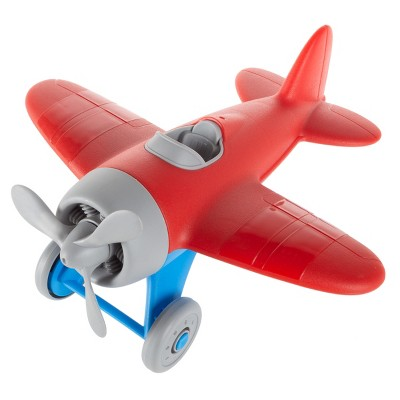 Plastic Airplane Toy for Kids and Toddlers - Non-Toxic BPA and Phthalate Free Children's Propeller Aeroplane Model Play Flying Vehicle by Toy Time