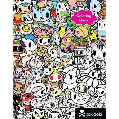Tokidoki Coloring Book - (Paperback) : Target