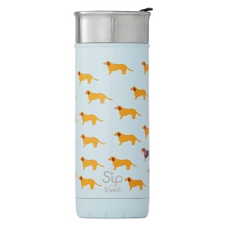 Sip by Swell 16oz Vacuum Insulated Stainless Steel Travel Mug Light Blue