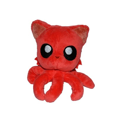 Tentacle Kitty Tentacle Kitty Little Ones 4 Inch Plush | Red