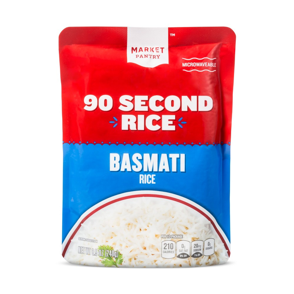 Basmati Rice 8.5oz - Market Pantry