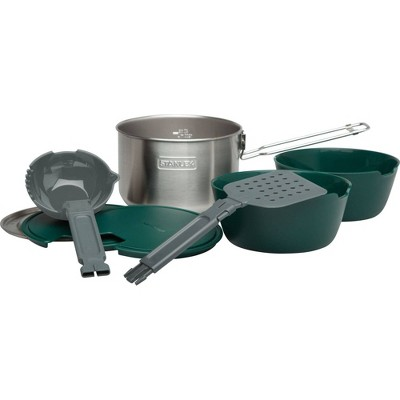 Stanley Adventure Stainless Steel All-In-One Two Bowl Cookset