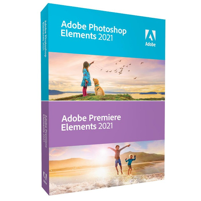 Adobe Photoshop Elements 2021 & Premiere Elements 2021 : Target