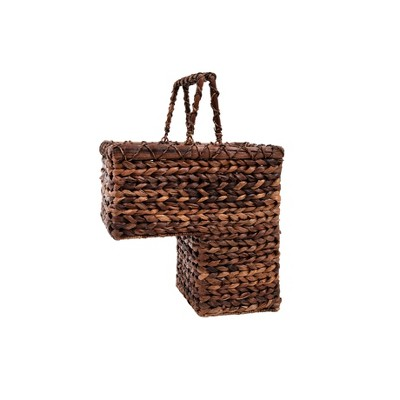 Exceptionnel BacBac Leaf Woven Stair Basket