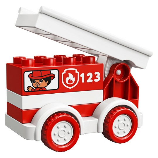 LEGO DUPLO My First Fire Truck 10917 Educational Fire Truck Toy image number null