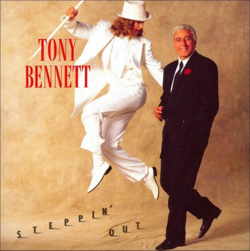Tony bennett - Steppin out (CD) - image 1 of 1