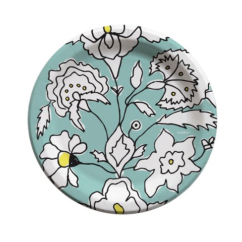 "Cheeky  9"" Plates - Floral Story - image 1 of 3"