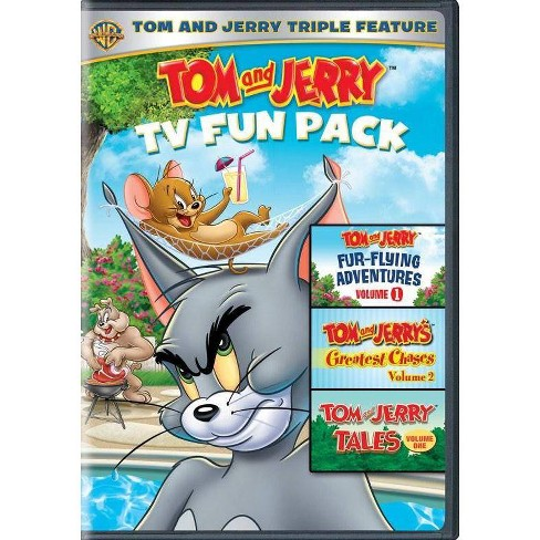 Tom & Jerry Value Pack (DVD) - image 1 of 1