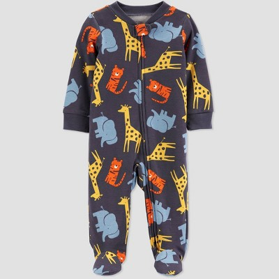 Baby Boys' Safari Sleep N' Play - Just One You® made by carter's Navy 3M