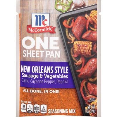 McCormick ONE New Orleans Sausage Sheetpan Seasoning Mix - 1oz