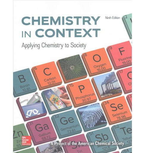 Chemistry in Context : Applying Chemistry to Society (Paperback) (American Chemical Society) - image 1 of 1