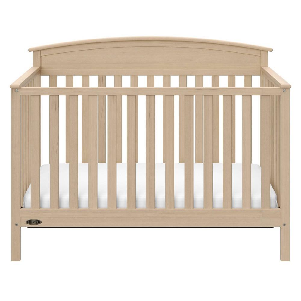 Image of Graco Benton 4-in-1 Convertible Crib - Driftwood, Brown