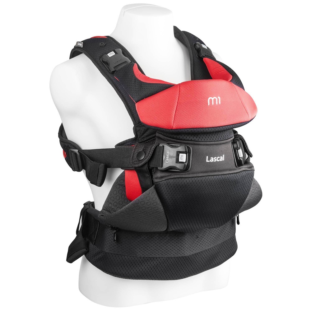 Image of Lascal M1 Baby Carrier - Red