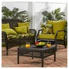 Pattern Outdoor Swing and Bench Cushion - Kensington Garden - image 3 of 4