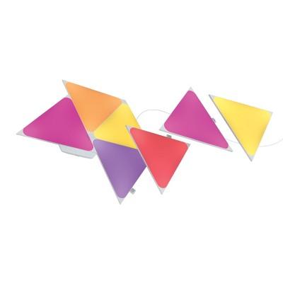Nanoleaf 7pk Shapes Triangle Smarter LED Light Kit