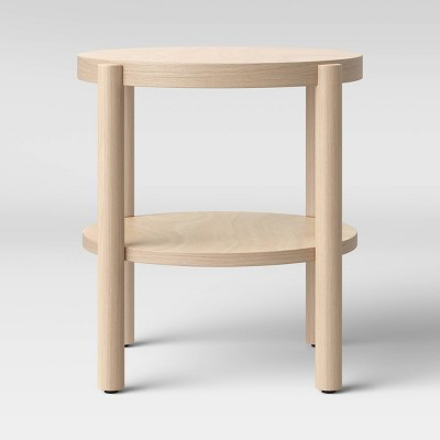 Ferdinand Round Wood Accent Table Natural - Project 62™