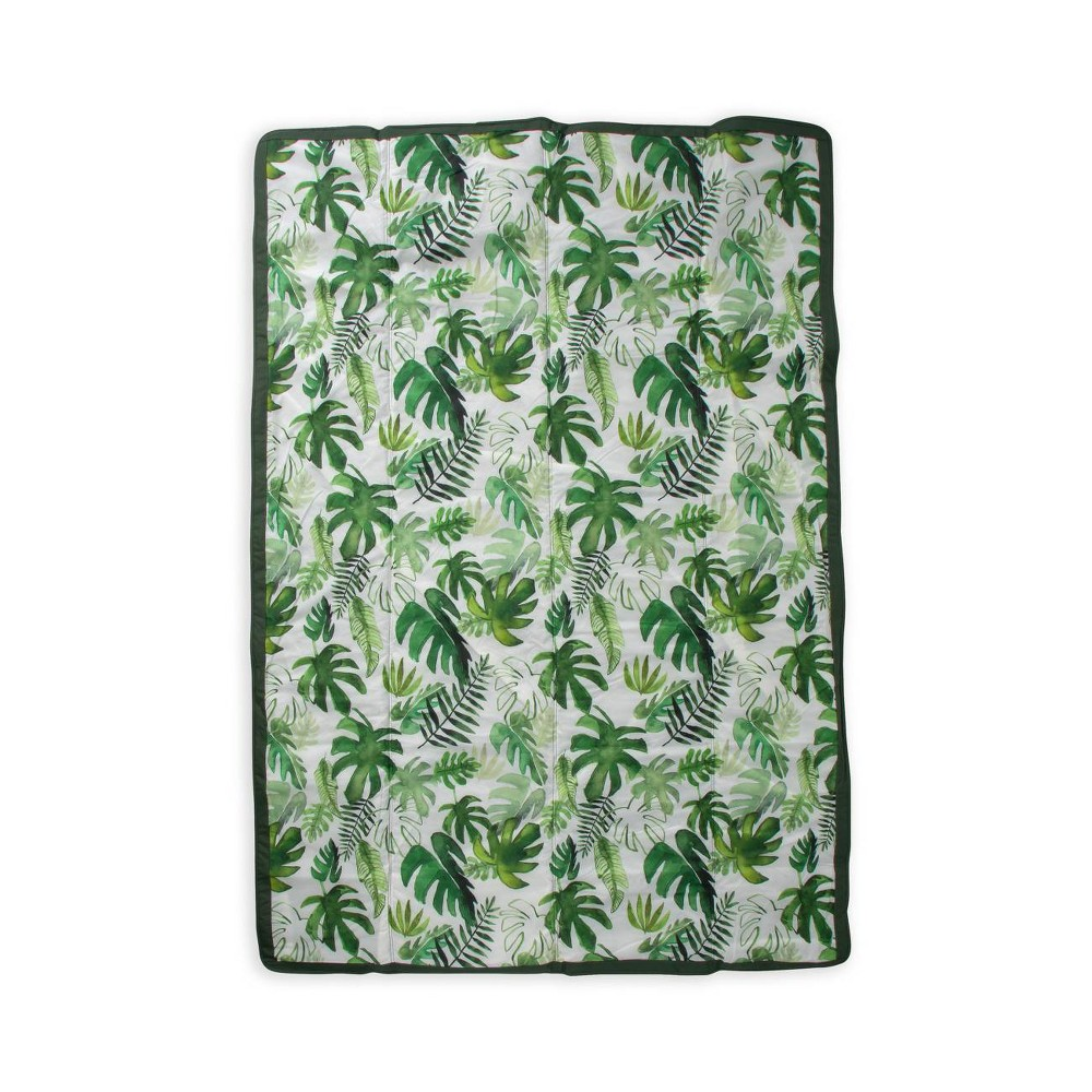 Image of Little Unicorn Outdoor Travel Blanket - Tropical Leaf