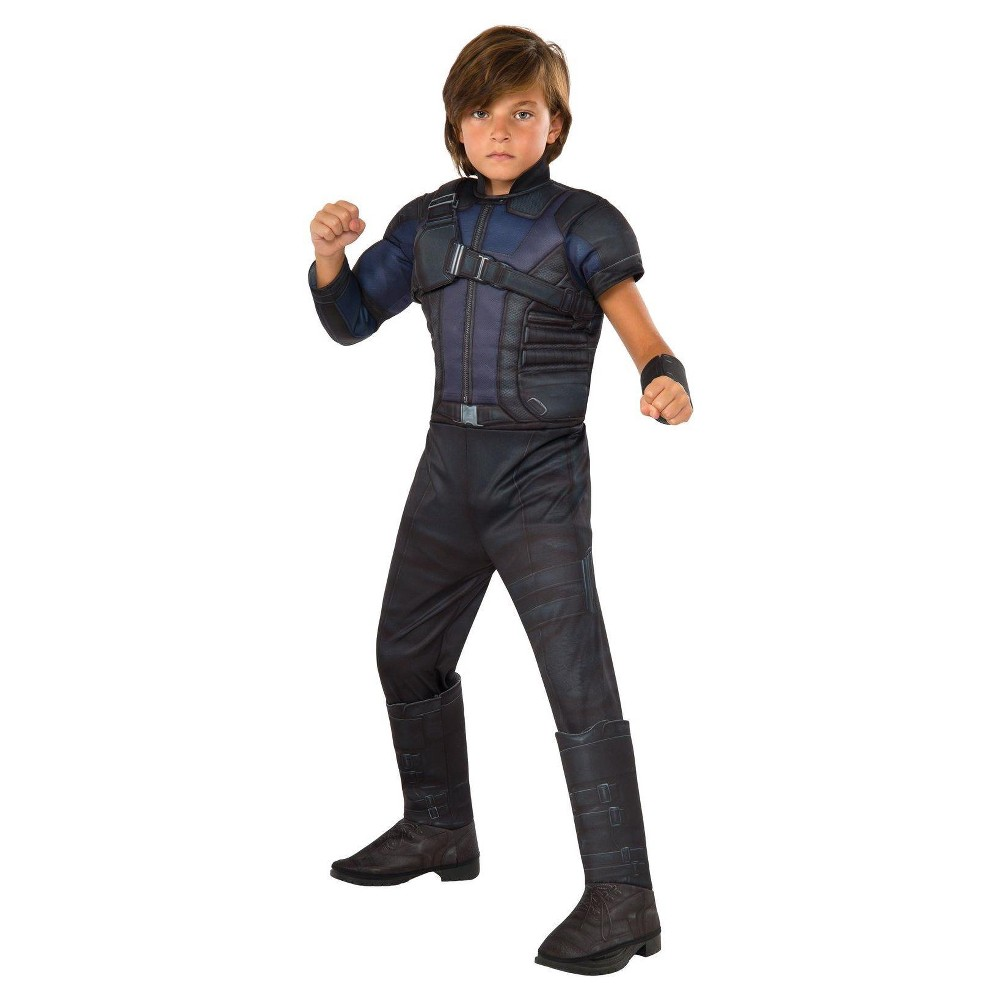The Avengers Age of Ultron Boys' Hawkeye Costume Medium (8-10), Size: M(8-10), Black