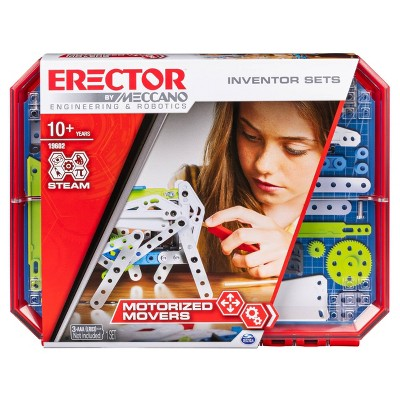 Erector by Meccano  Motorized Movers  - S.T.E.A.M. Building Kit with Animatronics