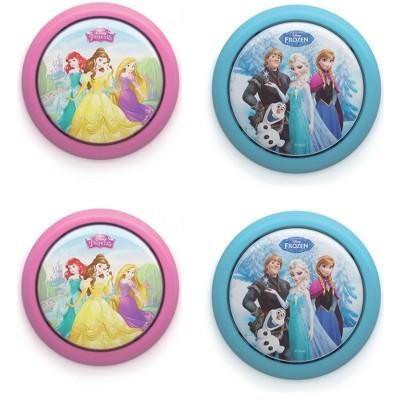 Philips Disney Princess & Frozen's Elsa Battery Powered LED Light (2 Pack each)