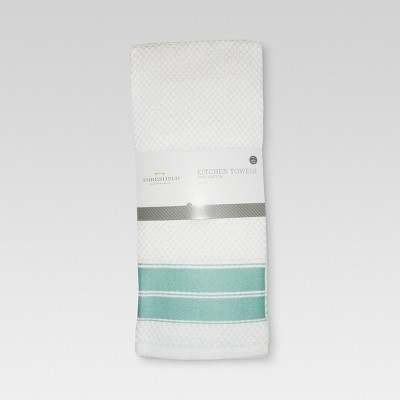 4pk Dish Towel Aqua - Threshold™